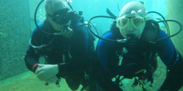 Lake Diving bij Todi